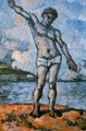 Man Standing Arms Extended - Paul Cezanne