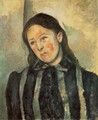 Madame Cezanne With Unbound Hair - Paul Cezanne
