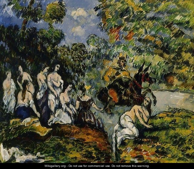 Legendery Scene - Paul Cezanne