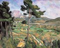 Landscape With Viaduct Mont Sainte Victoire - Paul Cezanne