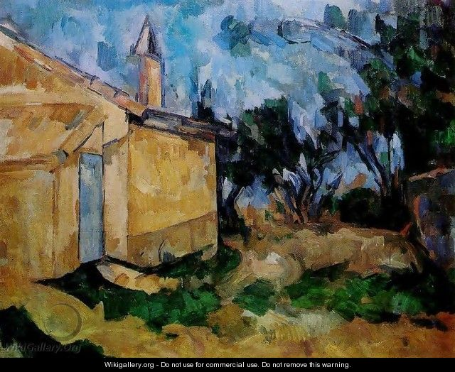 Jourdans Cottage - Paul Cezanne