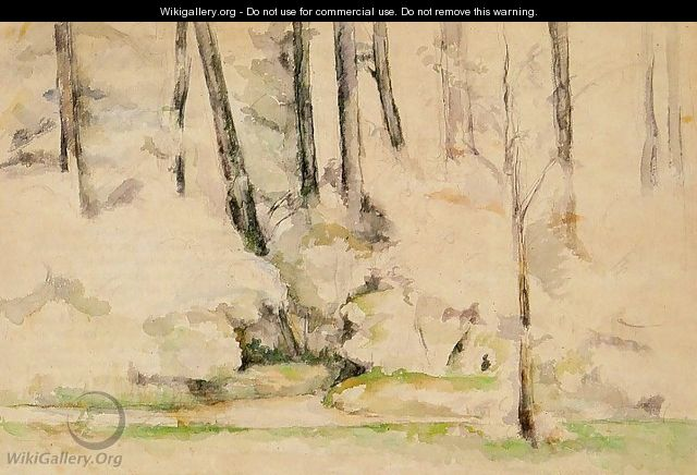 Into The Woods - Paul Cezanne