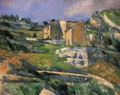 Houses In Provence The Riaux Valley Near L Estaque - Paul Cezanne