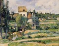 Mill On The Couleuvre At Pontoise - Paul Cezanne