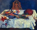 Still Life With Parrots - Paul Gauguin