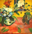 Still Life With Japanese Print - Paul Gauguin