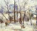 Snow At Vaugirard - Paul Gauguin