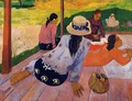 The Siesta - Paul Gauguin