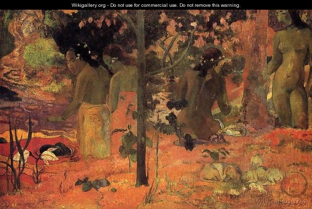The Bathers - Paul Gauguin