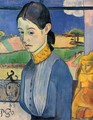 Young Breton Woman - Paul Gauguin