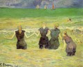 Women Bathing Dieppe - Paul Gauguin