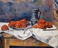 Tomatoes And A Pewter Tankard On A Table - Paul Gauguin