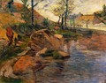 Cove Opposite Pont Aven Harbor - Paul Gauguin