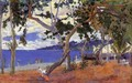 By The Seashore - Paul Gauguin