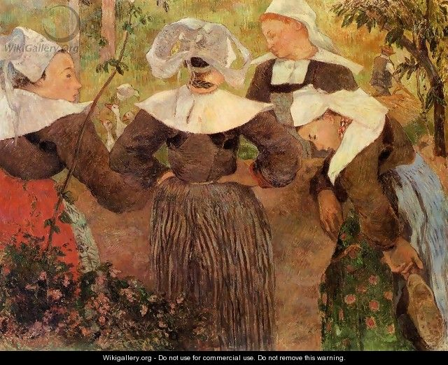 Four Breton Women - Paul Gauguin