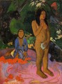 Parau Na Te Varua Ino Aka Words Of The Devil - Paul Gauguin