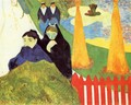 Old Women At Arles Aka Women From Arles In The Public Gardens The Mistral - Paul Gauguin