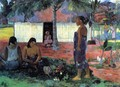 No Te Aha Oe Riri Aka Why Are You Angry - Paul Gauguin