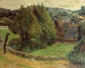 Mount Sainte Marguerite From Near The Presbytery - Paul Gauguin