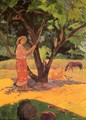 Mau Taporo Aka The Lemon Picker - Paul Gauguin