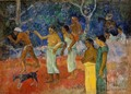 Scenes From Tahitian Live - Paul Gauguin