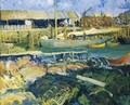 The Fish Wharf Matinicus Island - George Wesley Bellows