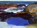 The Blue Pool - George Wesley Bellows