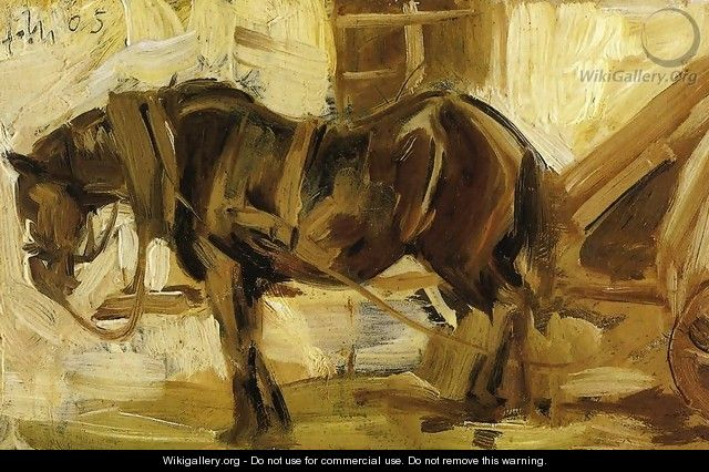 Small Horse Study - Franz Marc