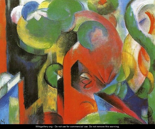 Small Composition III - Franz Marc