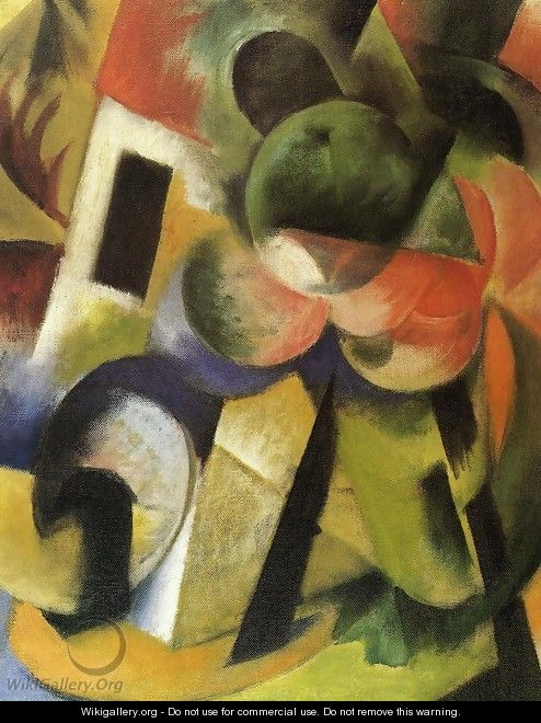 Small Composition II - Franz Marc