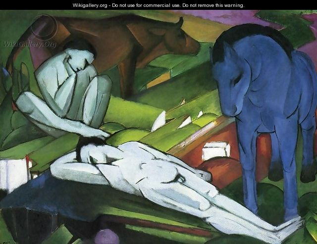 Shepherds - Franz Marc
