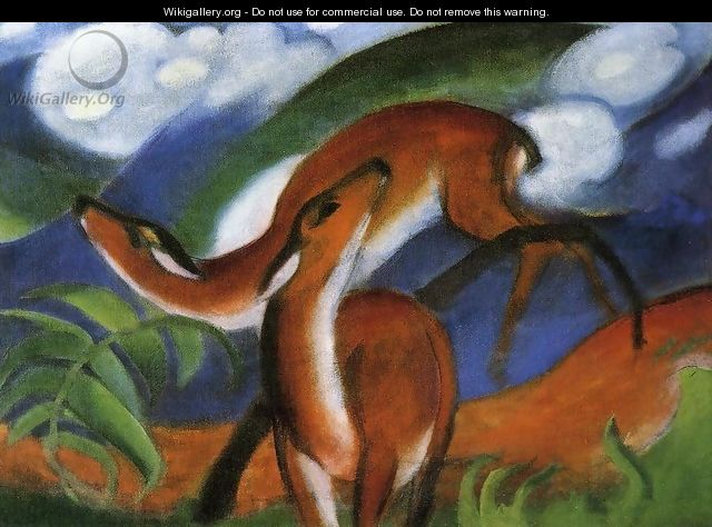 Red Deer II - Franz Marc