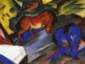 Red And Blue Horse - Franz Marc