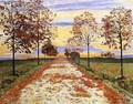 Autumn Evening - Ferdinand Hodler