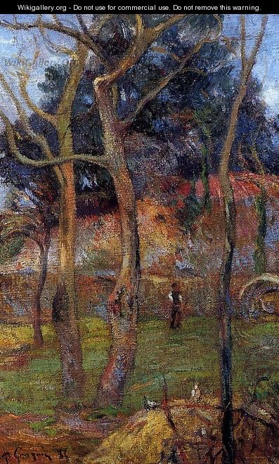 Bare Trees - Paul Gauguin