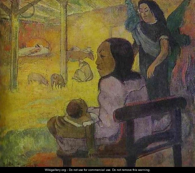 Baby Aka The Nativity - Paul Gauguin