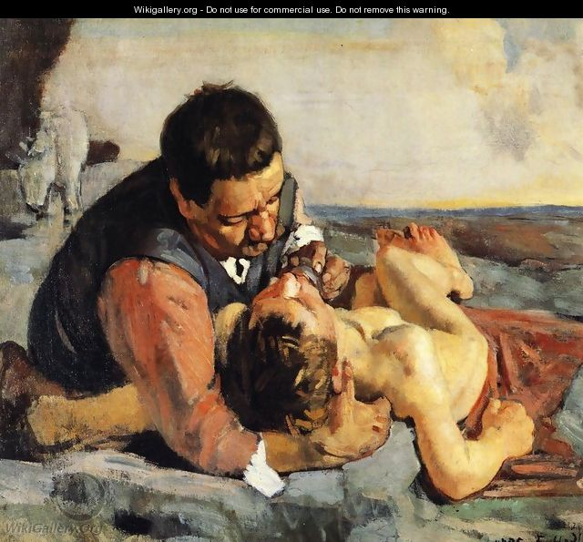 The Good Samaritan - Ferdinand Hodler