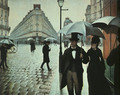 Paris Street- Rainy Weather 1877 - Gustave Caillebotte