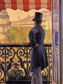 The Man On The Balcony - Gustave Caillebotte
