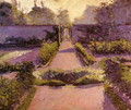 The Kitchen Garden Yerres2 - Gustave Caillebotte