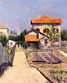 The Artists House At Petit Gennevilliers - Gustave Caillebotte