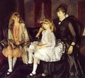 Emma And Her Children - George Wesley Bellows