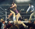 Dempsey And Firpo Aka Brodies Revenge - George Wesley Bellows