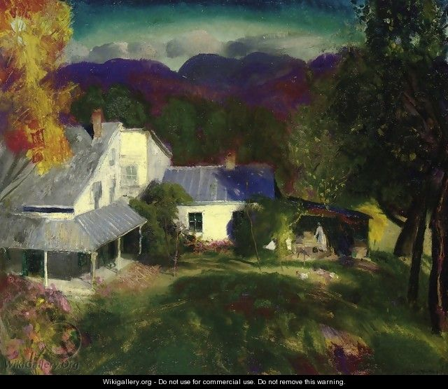 Mountain House - George Wesley Bellows