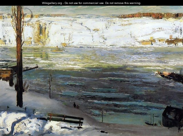 Floating Ice - George Wesley Bellows