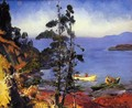 Evening Blue - George Wesley Bellows