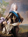 Portrait of Louis XV - Alexis-Simon Belle