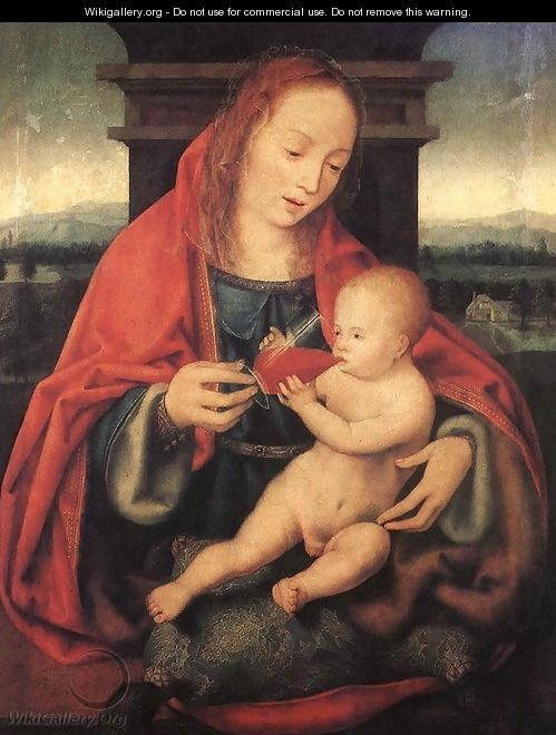 Virgin and Child - Joos Van Cleve (Beke)