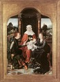 St Anne with the Virgin and Child and St Joachim - Joos Van Cleve (Beke)