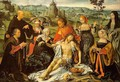 Altarpiece of the Lamentation (central) - Joos Van Cleve (Beke)
